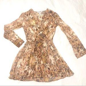 BCBGeneration faux wrap dress.